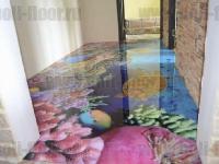 Наливные полы в квартирах, коттеджах_123
