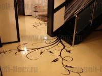 Наливные полы в квартирах, коттеджах_178