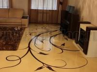 Наливные полы в квартирах, коттеджах_181