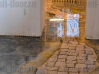 Наливные полы в квартирах, коттеджах_55