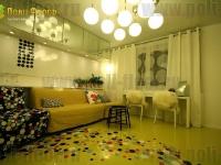 Наливные полы в квартирах, коттеджах_76
