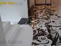 Наливные полы в квартирах, коттеджах_86