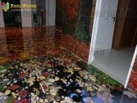 Наливные полы в квартирах, коттеджах_89