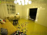 Наливные полы в квартирах, коттеджах_92